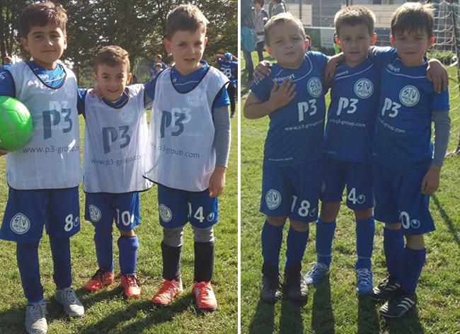 SV Hoffeld Bambini Blau/Weiss